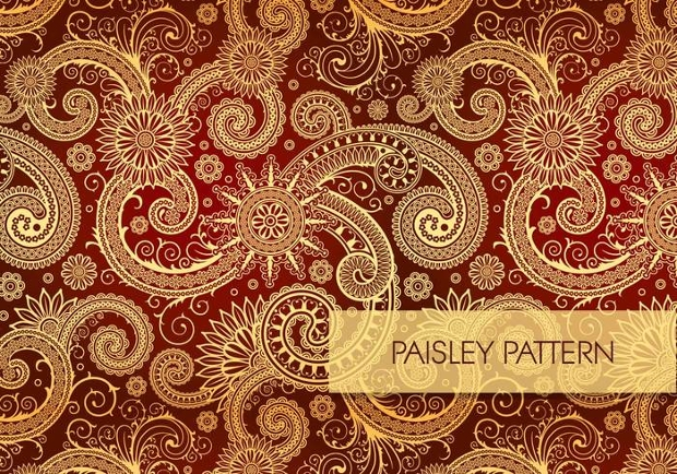 Decorative Paisely Pattern