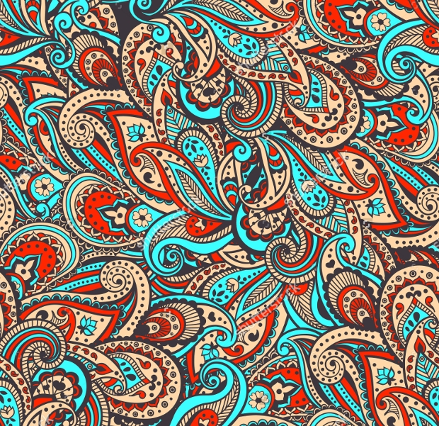Traditional Paisely Pattern