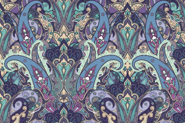 fantasy paisely pattern