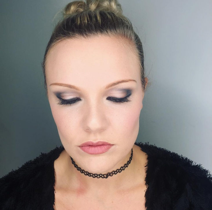 Simple Party Eye Makeup