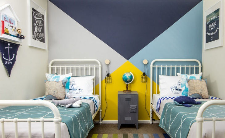 17 Retro Wall Paint Designs Ideas Design Trends