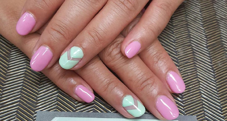 20 Simple Nail Art Designs Ideas Design Trends Premium Psd