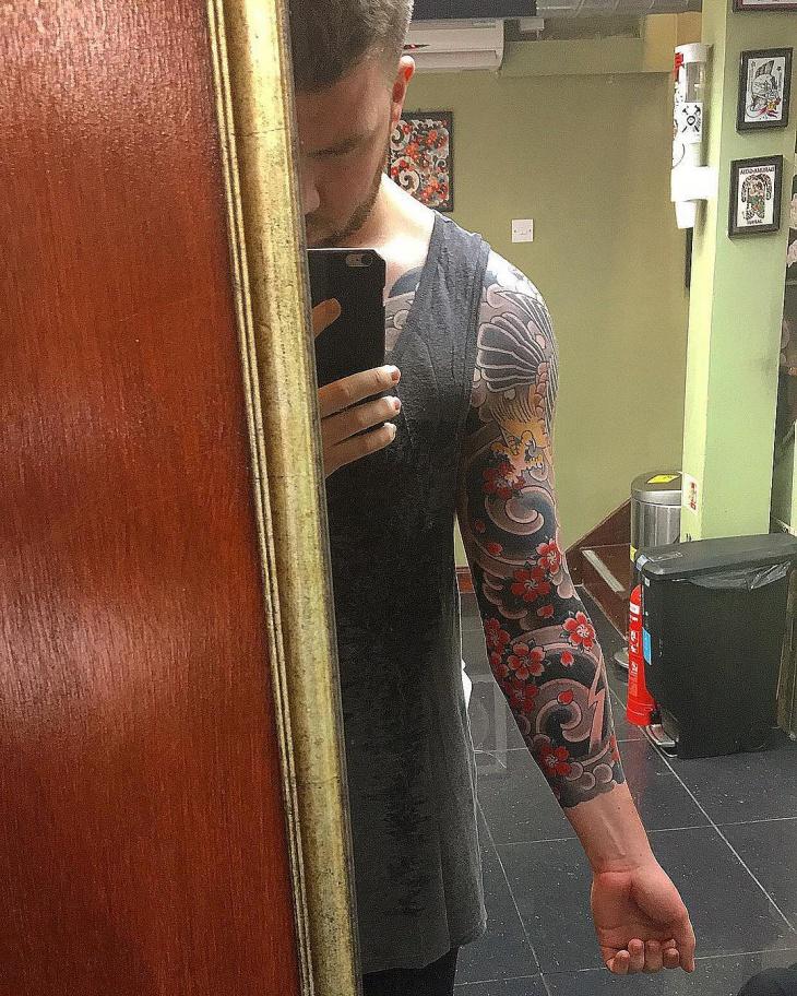 Japanese Sleeve Tattoo Design
