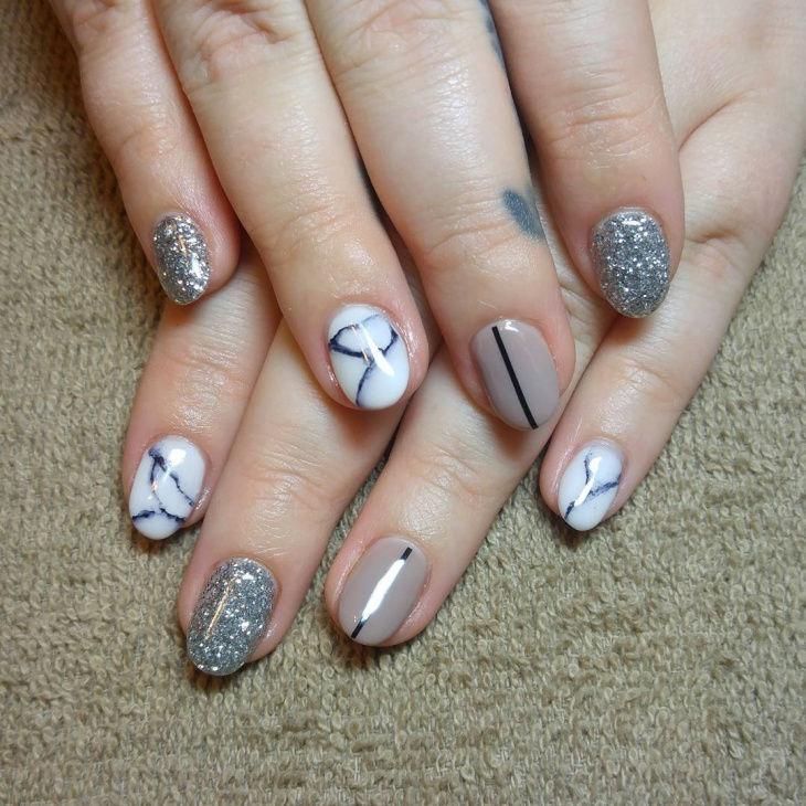 Hand Painted Nail Art Designs: 20+ Simple Nail Art Designs, Ideas