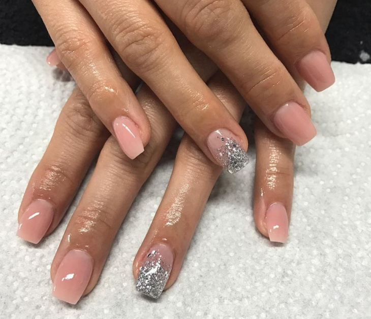 Simple Nail Design for Long Nails