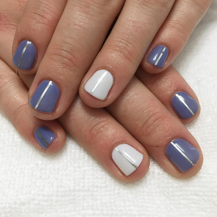 classy simple nail design1