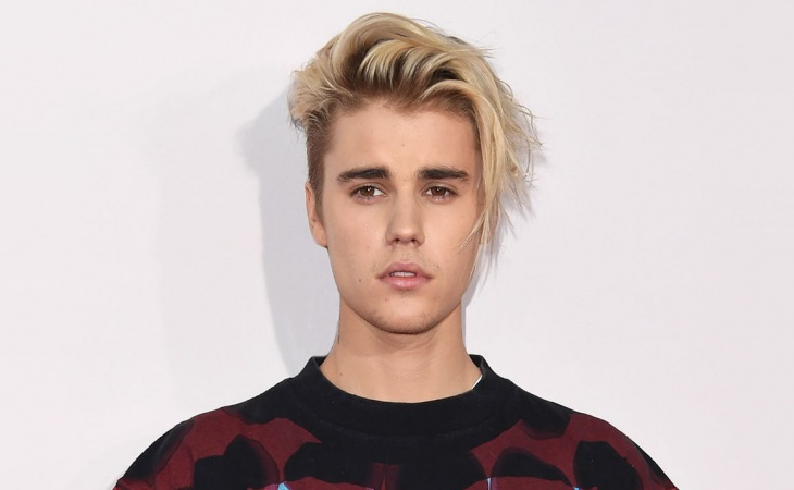 justin bieber blonde hair design for men
