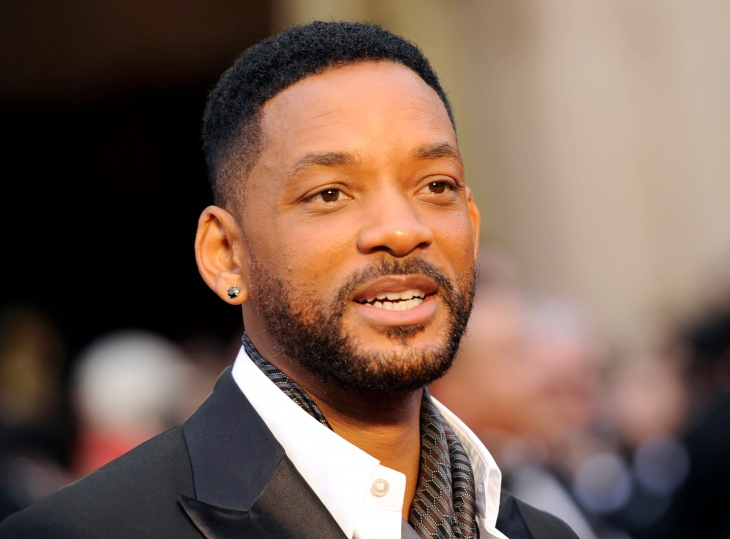 Will Smith Taper Fade Haircut for Men