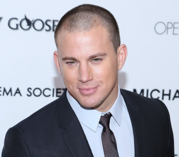 Channing Tatum Bald Hair Design for Men