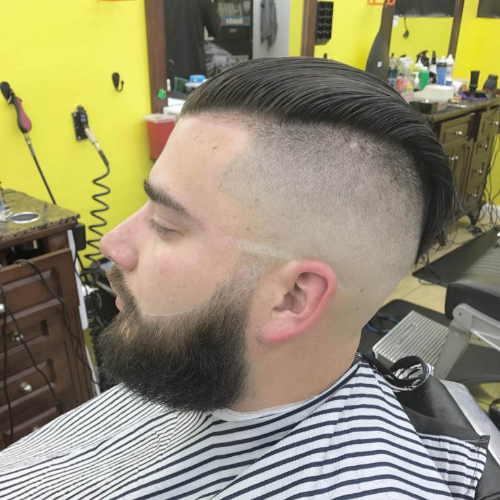 Men Skin Fade Hairstyle Design