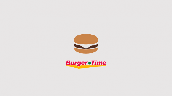 Burger Time Logo Design
