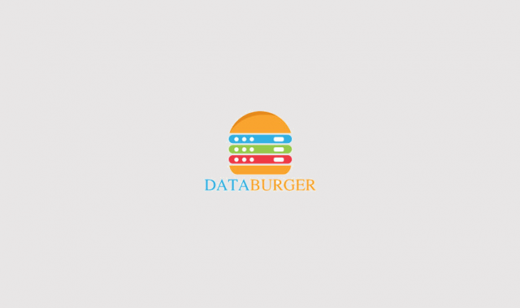 Data Burger Logo Design
