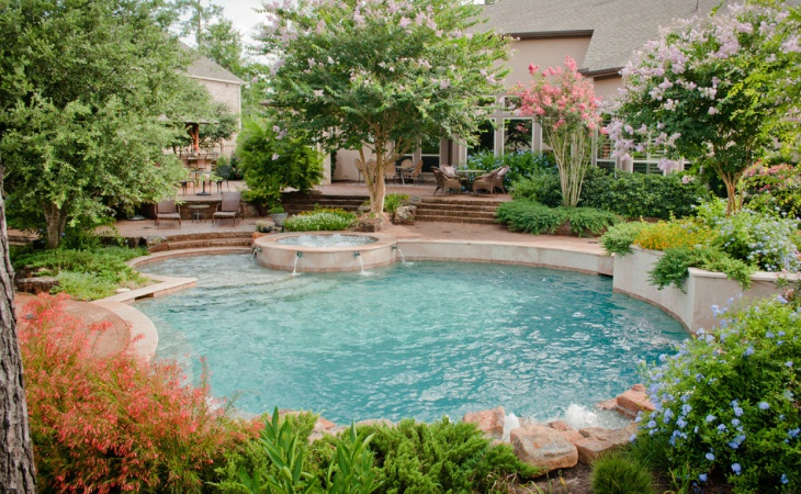 Backyard Pool Landscaping Design