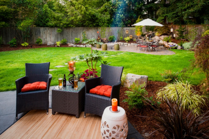 backyard patio landscaping design