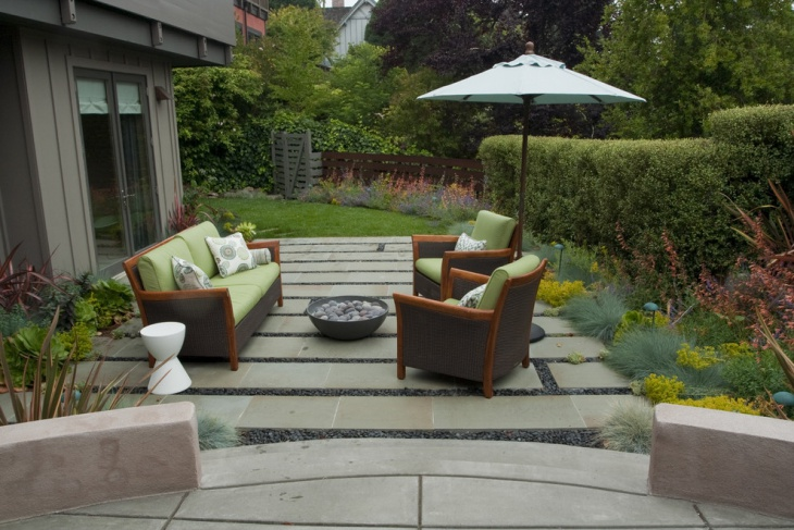 backyard landscaping furniture design