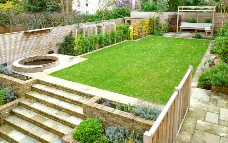 Transitional Backyard Landscape Design