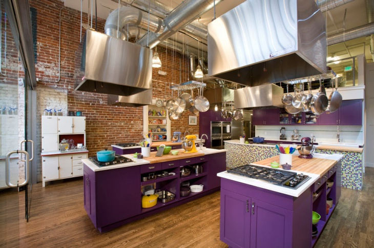 unique commercial kitchen design