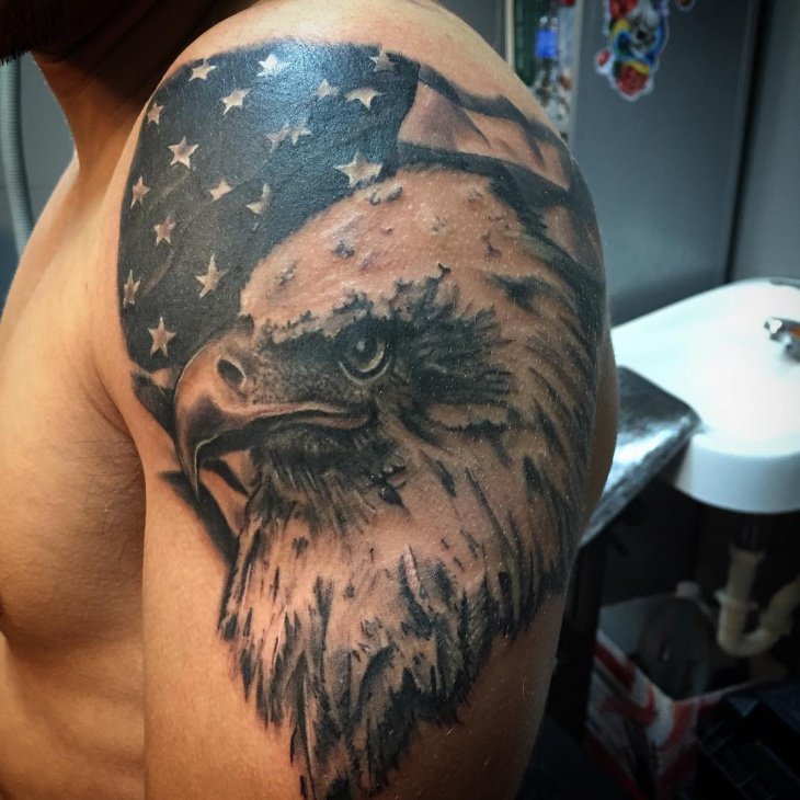 American Eagle Tattoo Design