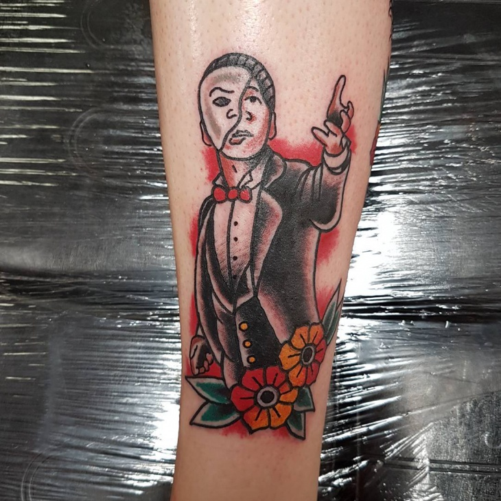 beautiful american tattoo design
