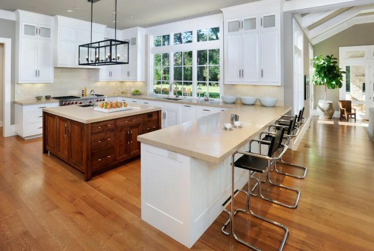U Shaped Kitchen Plans With Island 20+ u shaped kitchen designs, ideas | design trends - premium psd