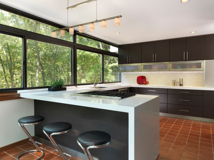 Simple U Shaped Kitchen Design