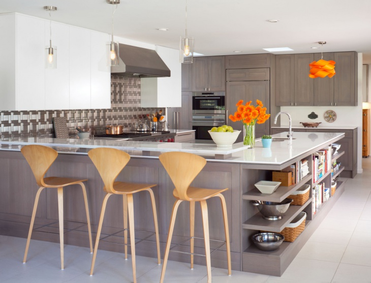 Classy U Shaped Kitchen Design