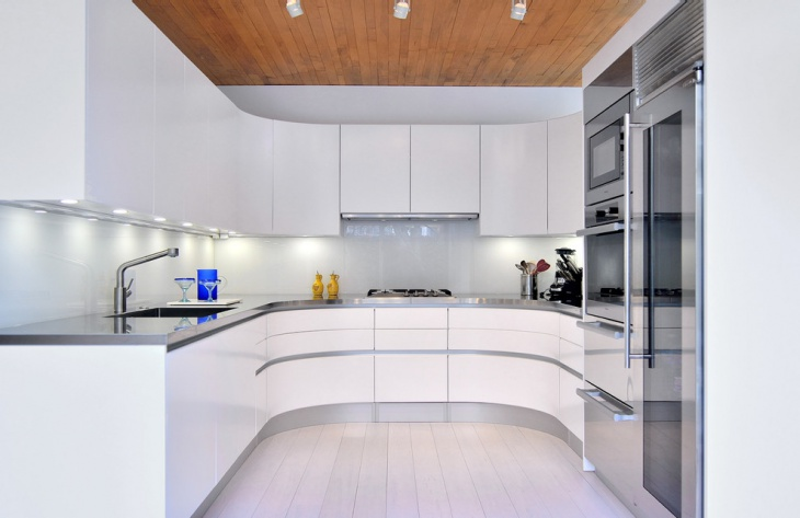 Tiny U Shaped Kitchen Idea