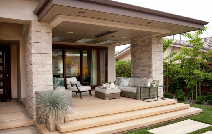 Modern Contemporary Porch Design
