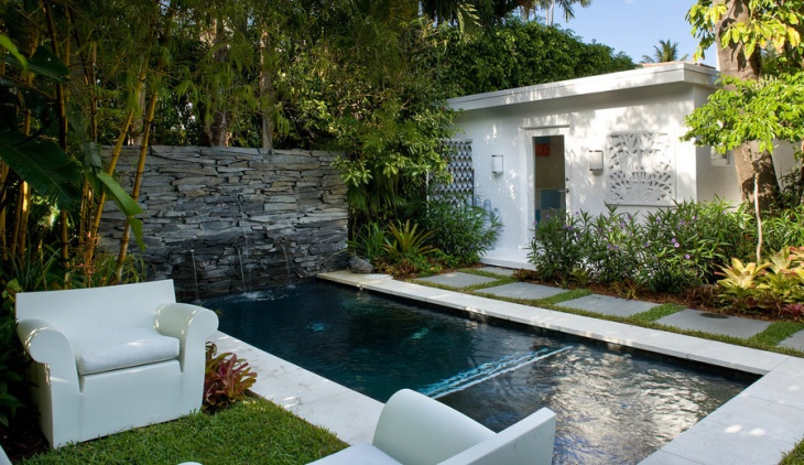modern garden swimming pool design - Modern Swimming Pool Designs