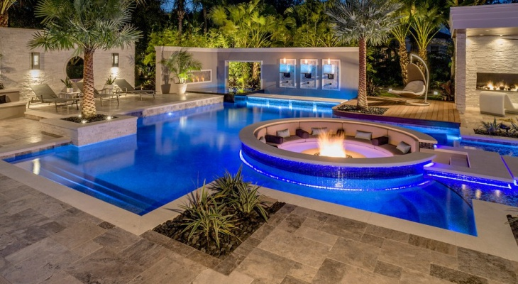 Contemporary Swimming Pools : Modern swimming pool designs ideas design trends