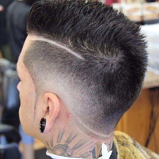 black haircut formen fade cut