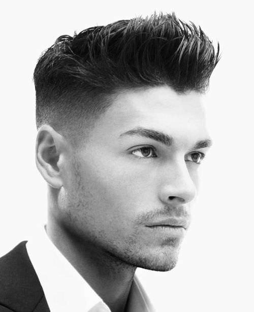 men hair fade