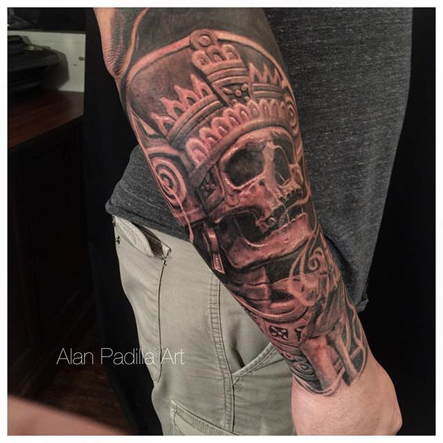 skull tattoo for men