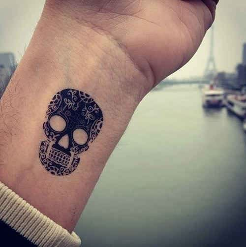Skull Wrist Tattoos