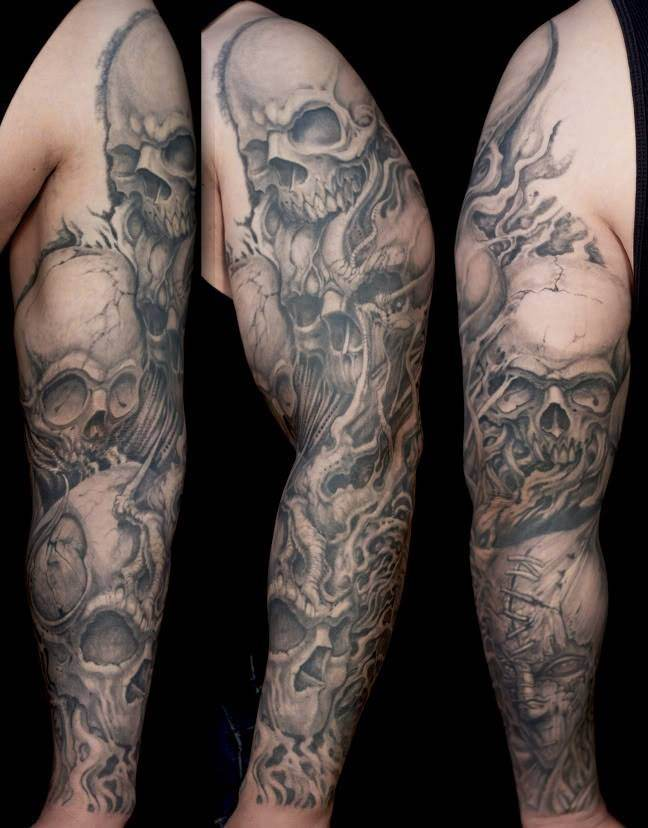skull for men tattoos