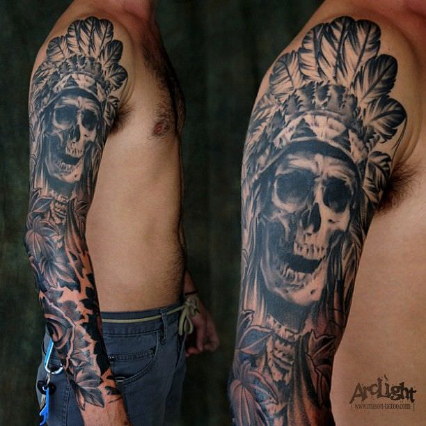 54+ Skull Tattoo Designs