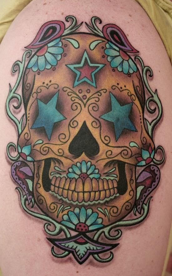 Sugar Skull Star Style