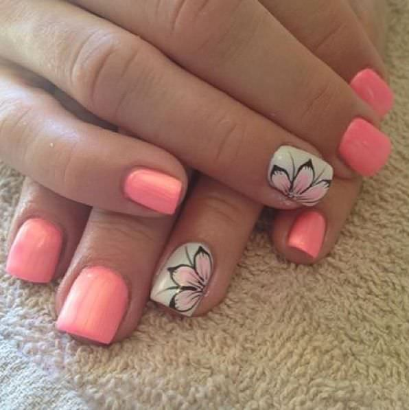 29+ Short Nail Art Designs, Ideas