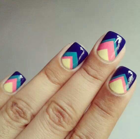 Cut Nail Design