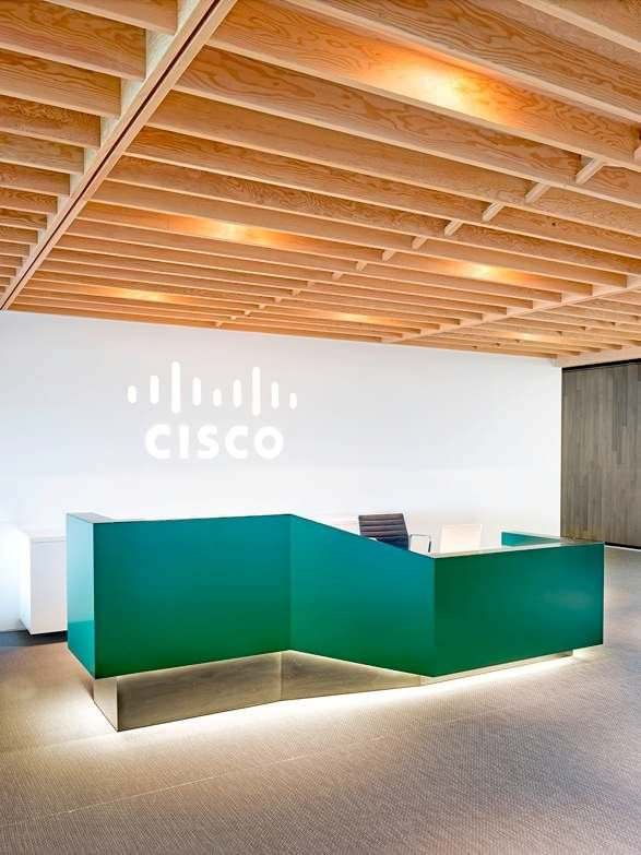 Cisco Office Reception Desk