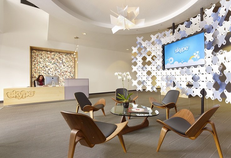 Skype Reception Office