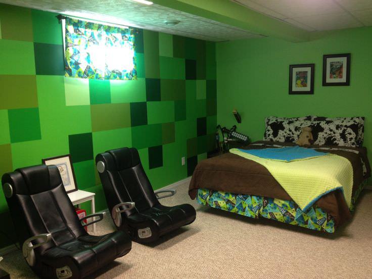 minecraft attic ideas - 28 Minecraft Bedroom Designs Decorating Ideas
