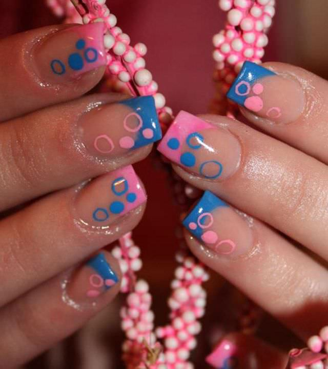 22+ French Tip Nail Art Designs, Ideas