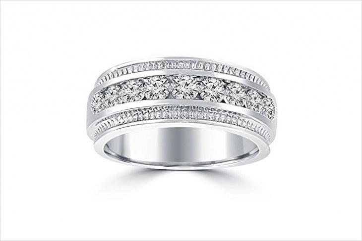 Wedding Diamond Ring for Men
