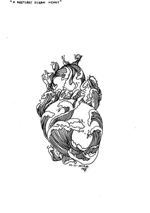 restless ocean heart
