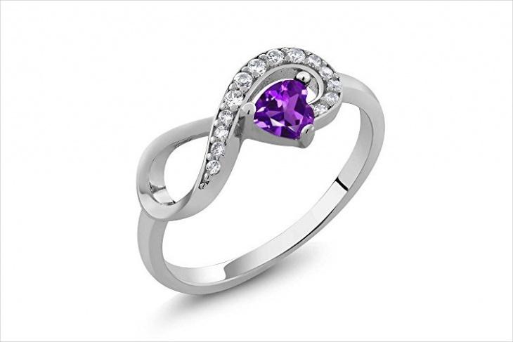 Love Infinity Wedding Ring Design