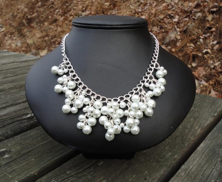 Wedding Bib Necklace Design