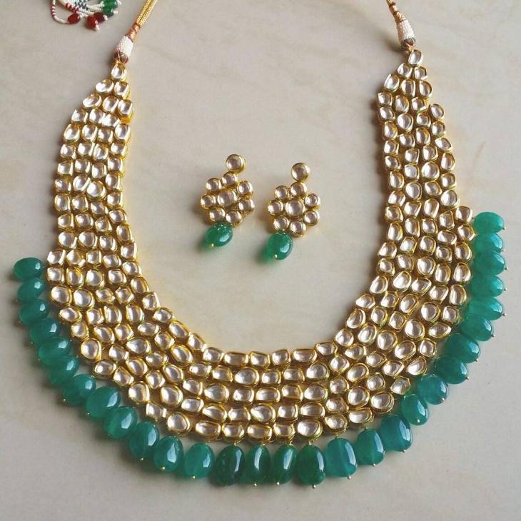 Designer Wedding Necklace Idea