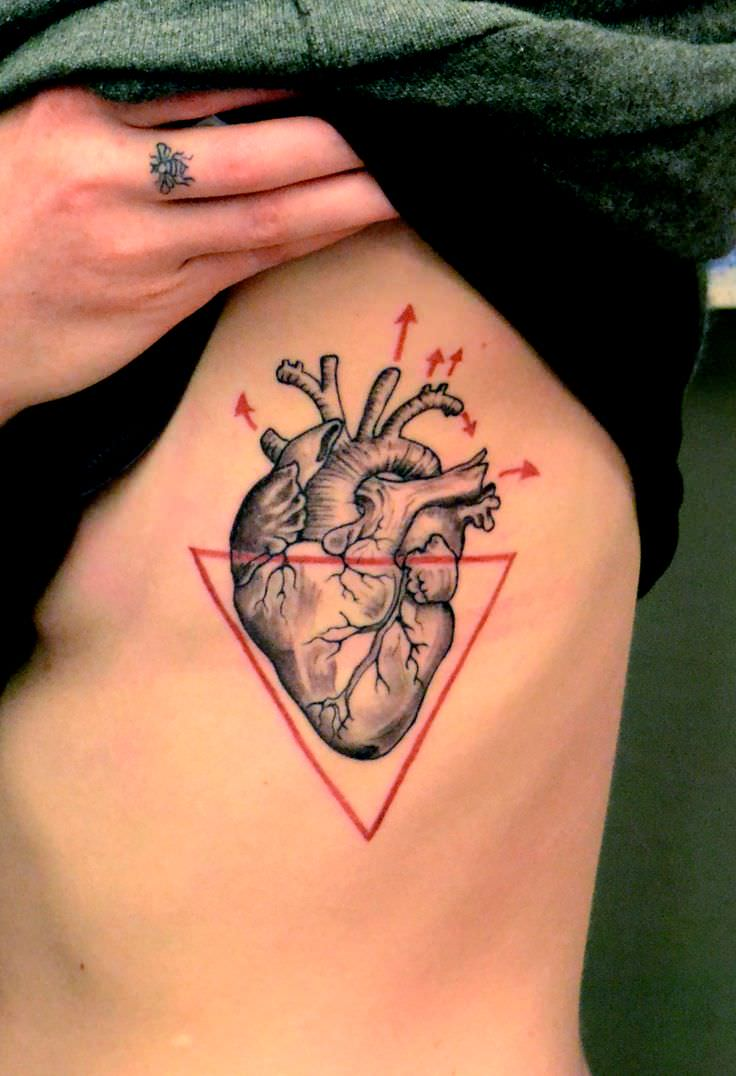 Orginal Heart Tattoo