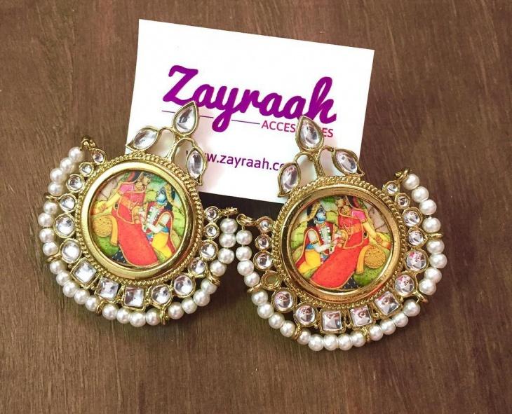 Indian Wedding Earrings Idea